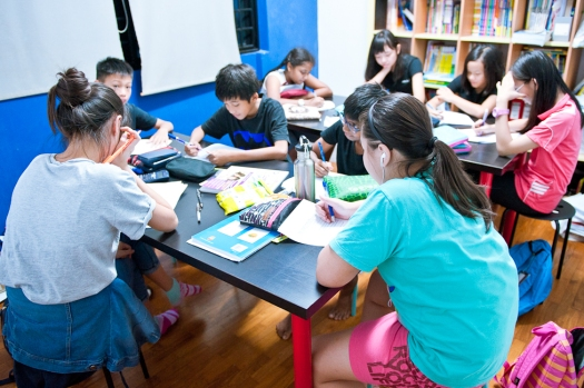 Singapore Tuition SEAB PSLE Students doing MOE Maths Primary 6 tuition in Tampines eduKate Singapore Tutorial Class