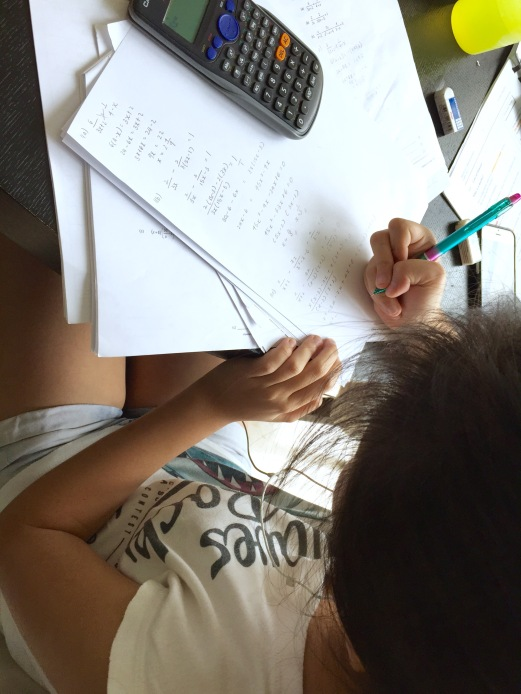 We make sure our students do Mathematics by being neat and logical. All steps are accounted for and written clearly for maximum marks and no silly mistakes or deduction of marks.