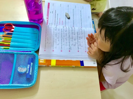 Happy students enjoying her class at eduKate Punggol