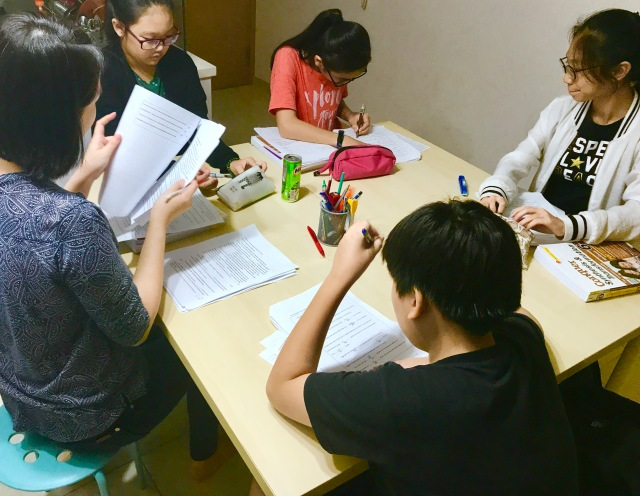 Punggol English and Math Tuition Small Group Tutor