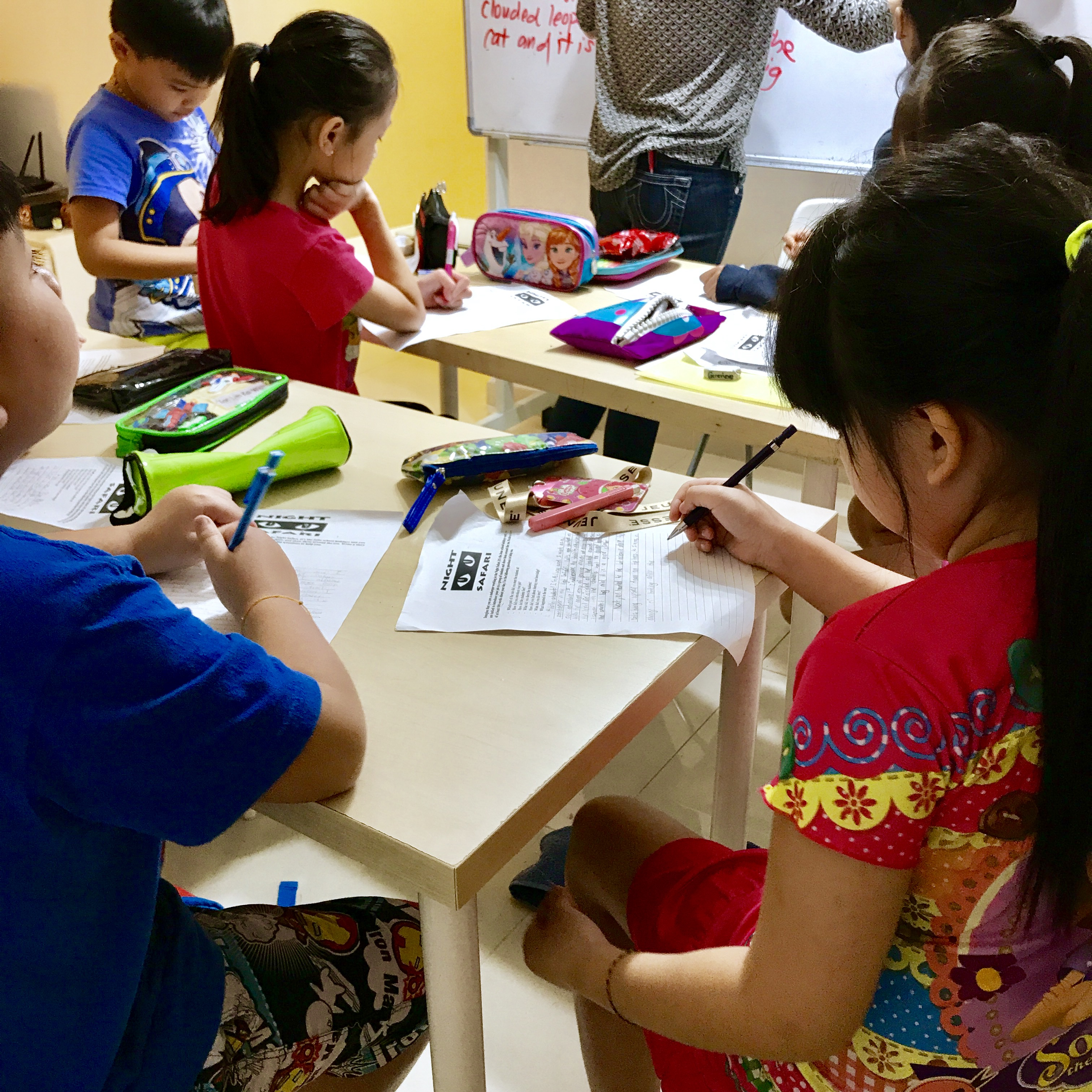 Marina Bay English Creative Writing Primary Pri 1,2,3,4,5,6 PSLE MOE Syllabus Small Group Tuition with qualified tutors