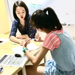 Tutors teaching Creative Writing Class and students coming up with brilliant storylines that are vibrant and lively, an imaginative vocabulary that captures the reader's imagination.