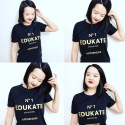 Tutor Yuet Ling with Semester 2 2017 Edukate Punggol Tuition T shirts